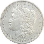 سکه یک دلار 1890O مورگان - VF35 - آمریکا