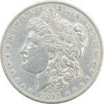 سکه یک دلار 1891 مورگان - VF35 - آمریکا