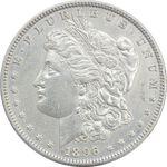 سکه یک دلار 1896 مورگان - EF45 - آمریکا