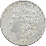 سکه یک دلار 1900 مورگان - EF40 - آمریکا