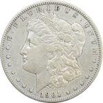 سکه یک دلار 1901O مورگان - VF35 - آمریکا