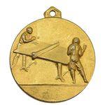 مدال آویز ورزشی طلا پینگ پنگ آموزشگاه کرمان - AU - محمد رضا شاه