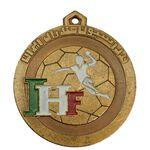 مدال آویز ورزشی برنز فدراسیون هندبال - AU - محمد رضا شاه
