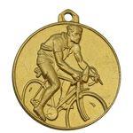مدال آویز ورزشی طلا دوچرخه سواری - UNC - محمد رضا شاه