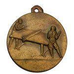 مدال آویز ورزشی برنز پینگ پنگ - AU - محمد رضا شاه