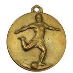 مدال آویز ورزشی طلا فوتبال - EF - محمد رضا شاه