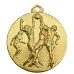 مدال آویز ورزشی طلا بسکتبال دختران - UNC - محمد رضا شاه