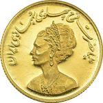 مدال طلا یادبود گارد شهبانو - نوروز 1355 - MS64 - محمد رضا شاه