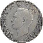 سکه 1 شیلینگ 1941 جرج ششم - تیپ 1 - EF40 - انگلستان