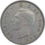 سکه 1 شیلینگ 1950 جرج ششم - تیپ 1 - EF40 - انگلستان