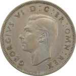 سکه 2 شیلینگ 1947 جرج ششم - EF45 - انگلستان