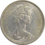 سکه 5 پنس 1970 الیزابت دوم - AU55 - انگلستان
