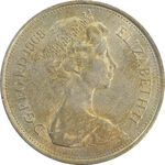 سکه 10 پنس 1968 الیزابت دوم - AU55 - انگلستان