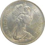 سکه 10 پنس 1969 الیزابت دوم - MS63 - انگلستان