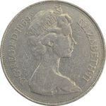 سکه 10 پنس 1969 الیزابت دوم - EF40 - انگلستان