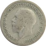 سکه 6 پنس 1932 جرج پنجم - VF20 - انگلستان