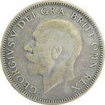 سکه 1 شیلینگ 1927 جرج پنجم - VF30 - انگلستان