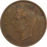 سکه 1/2 پنی 1938 جرج ششم - VF35 - انگلستان