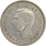 سکه 6 پنس 1939 جرج ششم - EF45 - انگلستان