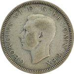 سکه 6 پنس 1940 جرج ششم - VF30 - انگلستان