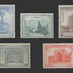 تمبر هزارمین سال تولد حکیم ابو علی سینا (سری چهارم) 1329 - محمد رضا شاه