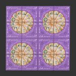 تمبر انقلاب سفید (4) 1347 - محمدرضا شاه