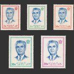 تمبر سری پانزدهم پستی 1352 - محمد رضا شاه