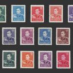 تمبر سری نهم پستی 1337 - محمد رضا شاه