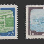 تمبر افتتاح پل خرمشهر 1338 - محمدرضا شاه