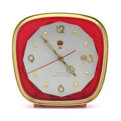 ساعت رومیزی قدیمی کوکی زنگی تقویم دار