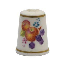 انگشتانه چینی قدیمی طرح میوه - کد 005793