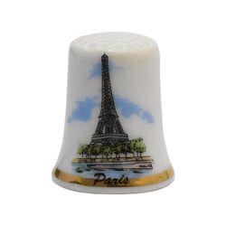انگشتانه چینی قدیمی طرح برج ایفل - کد 005816