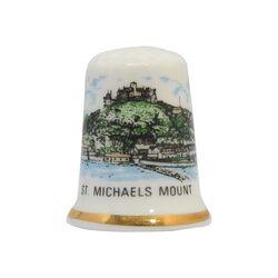 انگشتانه چینی قدیمی طرح جزیره میکائیل - کد 007046