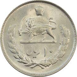 سکه 10 ریال 1354 - MS63 - محمد رضا شاه