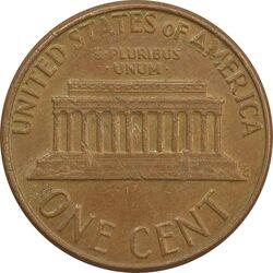 سکه 1 سنت 1975 لینکلن - EF - آمریکا