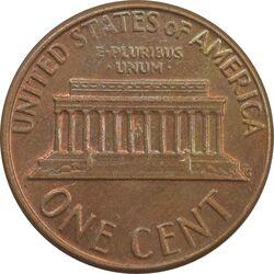 سکه 1 سنت 1977D لینکلن - MS62 - آمریکا
