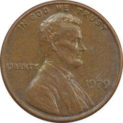 سکه 1 سنت 1979 لینکلن - EF - آمریکا