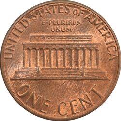 سکه 1 سنت 1985D لینکلن - MS63 - آمریکا