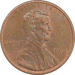 سکه 1 سنت 1994 لینکلن - AU - آمریکا