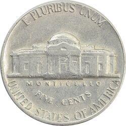 سکه 5 سنت 1970D جفرسون - EF45 - آمریکا