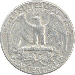 سکه کوارتر دلار 1970D واشنگتن - VF30 - آمریکا