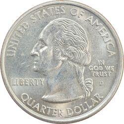 سکه کوارتر دلار 2000D ایالتی (مریلند) - MS62 - آمریکا
