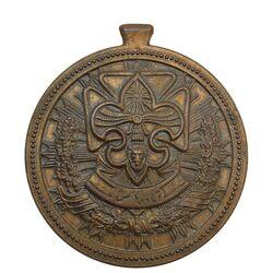 مدال پیش آهنگی (آماده باش) - AU - محمد رضا شاه