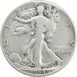 سکه نیم دلار 1944D نماد آزادی - VF25 - آمریکا