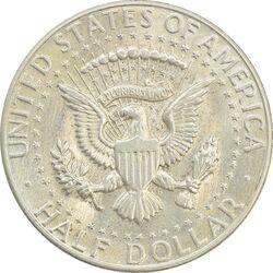 سکه نیم دلار 1965 کندی - AU58 - آمریکا