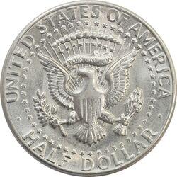 سکه نیم دلار 1971D کندی - MS62 - آمریکا