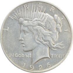 سکه یک دلار 1926D صلح - VF35 - آمریکا