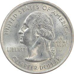 سکه کوارتر دلار 2001D ایالتی (نیویورک) - MS62 - آمریکا