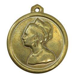 مدال آویز فرح پهلوی 1354 - VF -  محمد رضا شاه