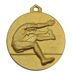 مدال آویز ورزشی طلا پرش با نیزه - UNC - محمد رضا شاه